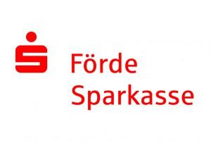 Förde Sparkasse Logo rot auf weiß